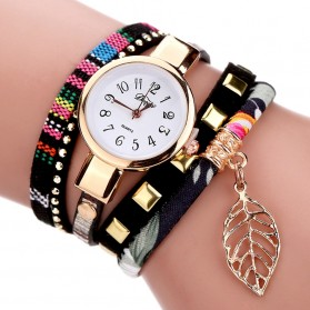 Duoya Jam Tangan Fashion Wanita - DY066 - Black
