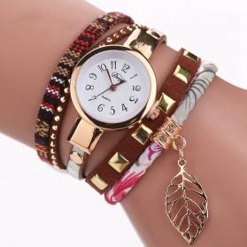 Duoya Jam Tangan Fashion Wanita - DY066 - Brown