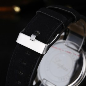 Lvpai Jam Tangan Analog Pria Luxury Leather - LP031 - Brown/White - 7
