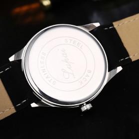 Lvpai Jam Tangan Analog Pria Luxury Leather - LP031 - Brown/White - 10