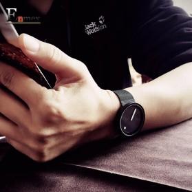 Enmex Jam Tangan Analog Fashion Pria - E2311 - Black/Black - 3