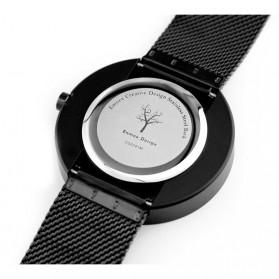 Enmex Jam Tangan Analog Fashion Pria - E2311 - Black/Black - 4