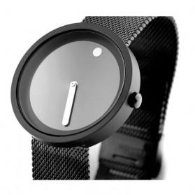 Enmex Jam Tangan Analog Fashion Pria - E2311 - Black/Black - 7
