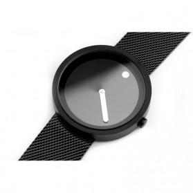 Enmex Jam Tangan Analog Fashion Pria - E2311 - Black/Black - 8