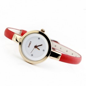 Enmex Jam Tangan Analog Wanita - 575 - Red/Golden