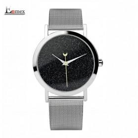 Enmex Jam Tangan Analog Fashion Wanita - E7302 - Black