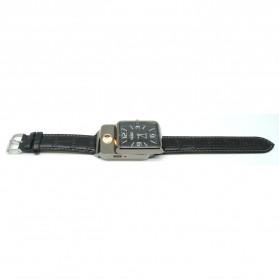 HUAY Jam Tangan Kasual dengan Korek Elektrik Rechargeable - Black - 3