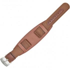 Strap Jam Tangan Pure Nylon 20mm - DW - Brown