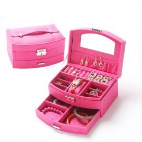 Kotak Perhiasan - Kotak Organizer Perhiasan - Rose