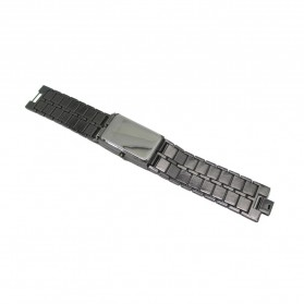 Watch with Red Light for Male - 7009 - Black - 2