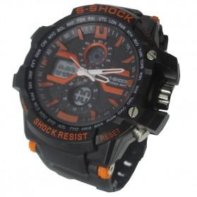 S-SHOCK Sport Watch - 2168 - Orange - 3
