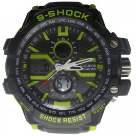 S-SHOCK Sport Watch - 2168 - Yellow