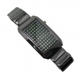 Square Watch 72 Light for Male - Silver