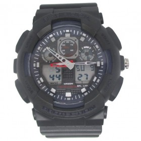 S-SHOCK Watch - 2086 - Black/Blue