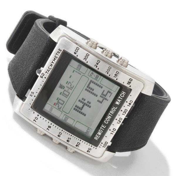 Remote Control Watch - TV2018 - Silver Black - JakartaNotebook.com 67b18b445c