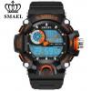SMAEL Jam Tangan Digital Luminous - 1385 - Black/Orange
