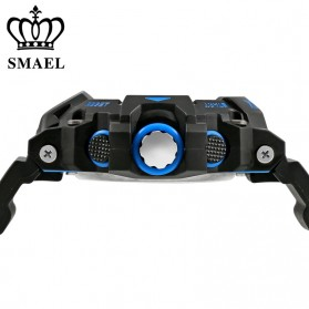 SMAEL Jam Tangan Digital Luminous - 1385 - Black/Orange - 3