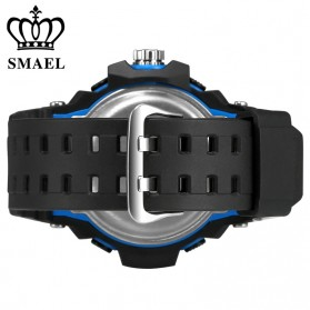 SMAEL Jam Tangan Digital Luminous - 1385 - Black/Orange - 4