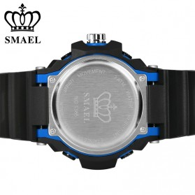 SMAEL Jam Tangan Digital Luminous - 1385 - Black/Orange - 5