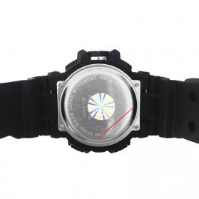 SMAEL Jam Tangan Digital Luminous - 1436 - Black/Blue - 4