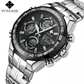 WWOOR Jam Tangan Luxury Pria - 8019 - Black