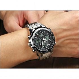 WWOOR Jam Tangan Luxury Pria - 8019 - Black - 3