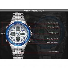 WWOOR Jam Tangan Luxury Pria - 8019 - Black - 6