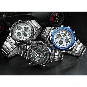 WWOOR Jam Tangan Luxury Pria - 8019 - Black - 9