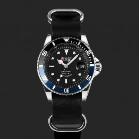 Trend Fashion Pria Terbaru - Military Royale Jam Tangan Analog Automatic - MR105/107/109/111/113 - Black/Blue