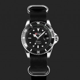 Military Royale Jam Tangan Analog Automatic - MR105/107/109/111/113 - Black