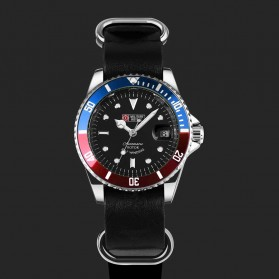 Military Royale Jam Tangan Analog Automatic - MR105/107/109/111/113 - Red/Blue