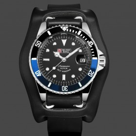 Military Royale Jam Tangan Analog Automatic Pria - MR136/130/134/140/142 - Black/Blue