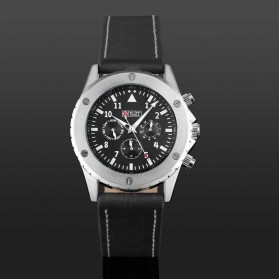 Military Royale Jam Tangan Analog Pria - MR099/100 - Black