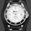 Military Royale Jam Tangan Automatic Self Winding Pria - MR116/119/121/123/126 - Black White