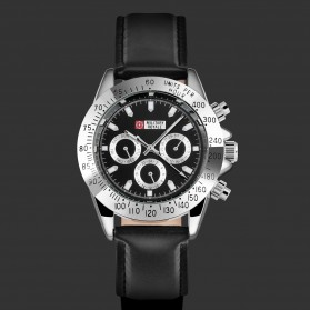 Military Royale Jam Tangan Mekanikal Analog Pria - MR151 - Black