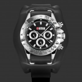 Military Royale Jam Tangan Mekanikal Analog Pria - MR155 - Black