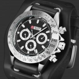 Military Royale Jam Tangan Mekanikal Analog Pria - MR155 - Black - 3