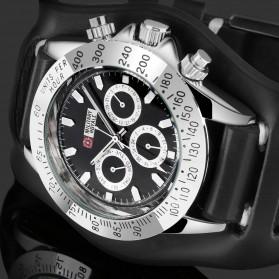 Military Royale Jam Tangan Mekanikal Analog Pria - MR155 - Black - 4