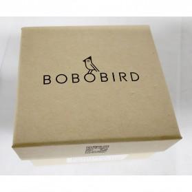BOBO BIRD Jam Tangan Kayu Analog Wanita - M19 - Brown - 9