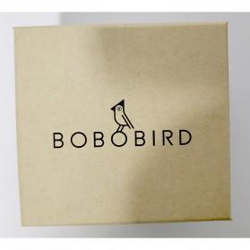 BOBO BIRD Jam Tangan Kayu Analog Pria - P19 - Black - 9