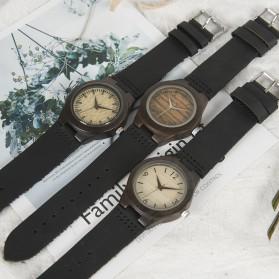 BOBO BIRD Jam Tangan Kayu Ebony Wanita Luxury Wooden Watch - E28 - Black - 6