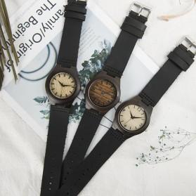 BOBO BIRD Jam Tangan Kayu Ebony Wanita Luxury Wooden Watch - E28 - Black - 7