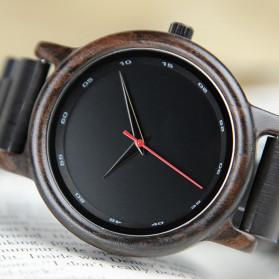 BOBO BIRD Jam Tangan Analog Pria Bamboo Watch - P10 - Black - 2