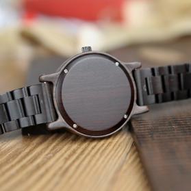 BOBO BIRD Jam Tangan Analog Pria Bamboo Watch - P10 - Black - 5