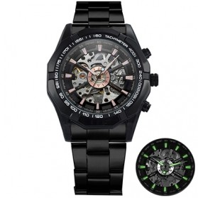 Forsining Jam Tangan Mechanical Luxury Pria - SLZ56 - Black