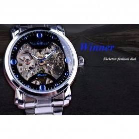 WINNER Jam Tangan Mechanical Luxury Pria - SLZa94 - Black - 2