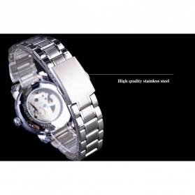 WINNER Jam Tangan Mechanical Luxury Pria - SLZa94 - Black - 5