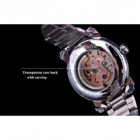 WINNER Jam Tangan Mechanical Luxury Pria - SLZa94 - Black - 6