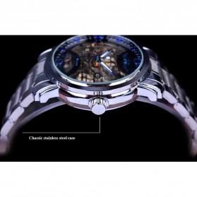 WINNER Jam Tangan Mechanical Luxury Pria - SLZa94 - Golden - 4