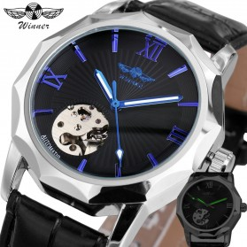 WINNER Jam Tangan Analog Mechanical Pria - SLZg08 - Blue - 2